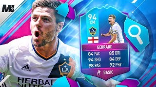 FIFA 17 END OF AN ERA GERRARD REVIEW   94 SBC GERRARD PLAYER REVIEW   FIFA 17 ULTIMATE TEAM