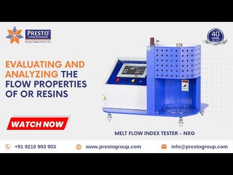 Melt Flow Index NXG Model
