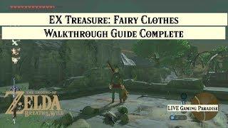 Breath of the Wild | EX Treasure: Fairy Clothes [DLC] Side Mission