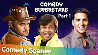 Bollywood Comedy Superstars - Rajpal Yadav | Akshay Kumar | Sanjay Mishra - Best Of Bollywood