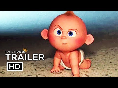 INCREDIBLES 2 Babysitting Jack Jack Trailer NEW (2018) Disney Animated Superhero Movie HD