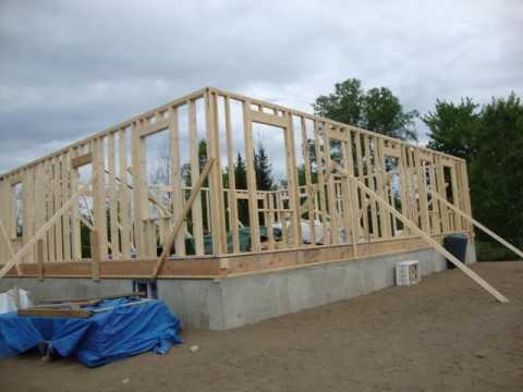 How to build your own House from scratch free and clear! #3
