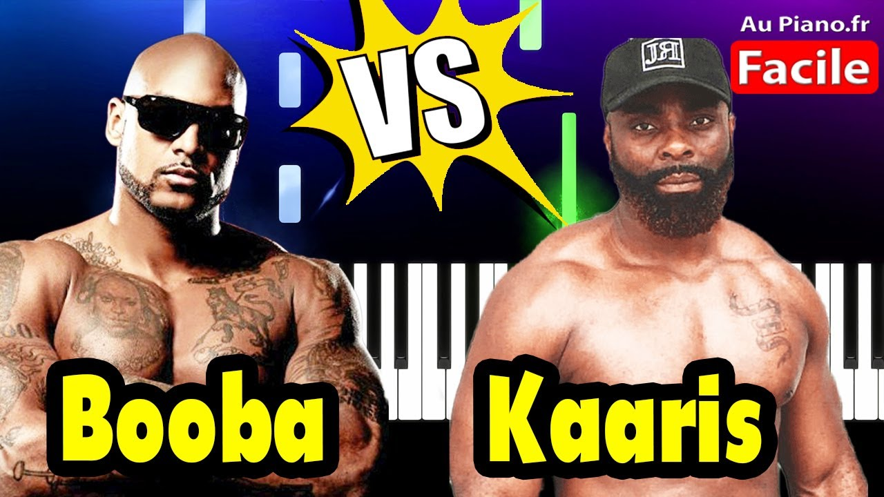 Booba Piano Vs Kaaris (Cover Tutorial Rap 2021)
