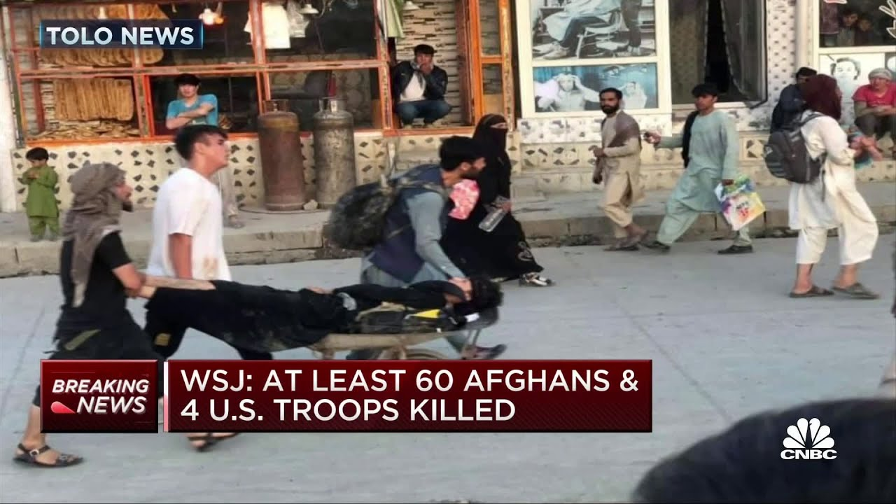 A minimum of 60 Afghans and 4 U.S. soldiers eliminated: WSJ