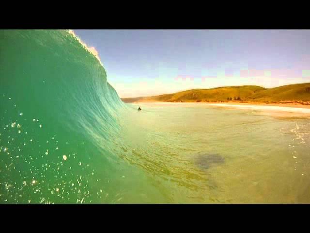 Surfing, South Australia. (GoPro)