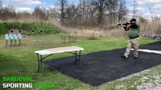 Action Pistol Match at Sandoval Range, Illinois - Shooter 4