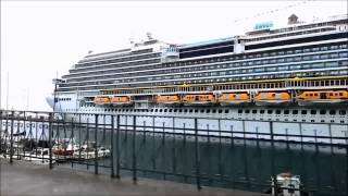 preview picture of video 'Costa Diadema a Savona'