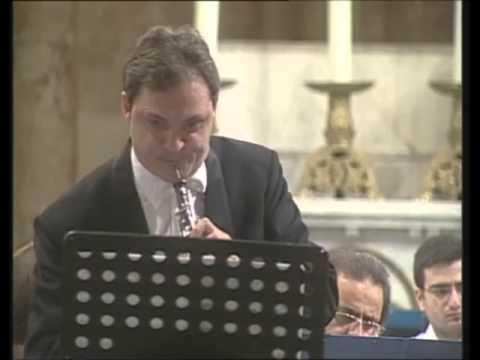 Stefan Chirca Oboe / Ondin Brezeanu Violin Concerto for Violin, Oboe, and Strings in D minor, J.S Bach BWV 1060.
