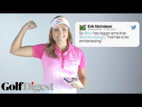 Lexi Thompson Responds to Mean Tweets | Golf Digest Screenshot 1