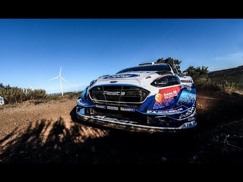 M-Sport Ford WRTの金曜日ダイジェスト動画 WRC ラリー・イタリア・サルディニア