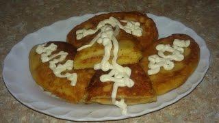 Картофельные зразы с капустой. Аппетитно и вкусно.