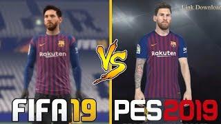 FIFA 19 VS PES 19   Graphics Comparison