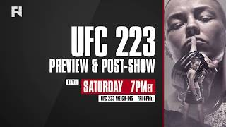 UFC 223 LIVE Coverage Incl. Weigh-in, Preview & Post-Show | Tune in Fri. & Sat. on FN Canada