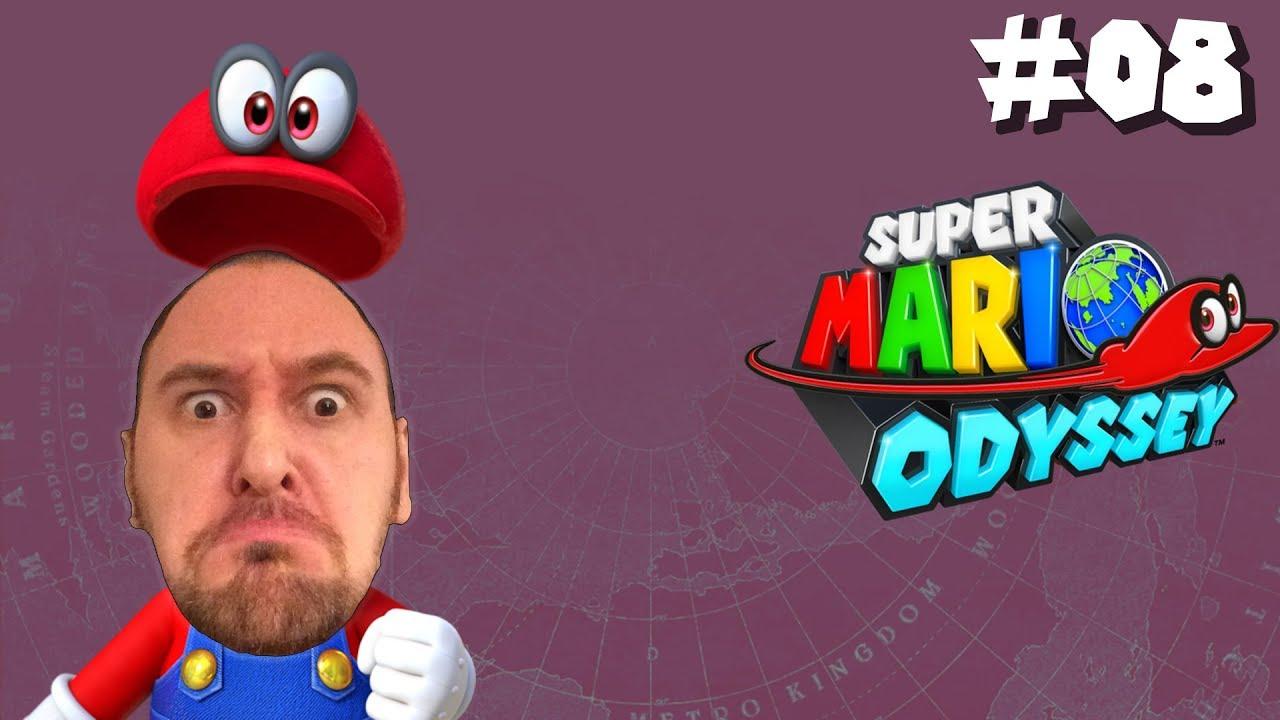 Super Mario Odyssey – Part 8: Pilzkönigreich & Die Finstere Seite Des Mondes