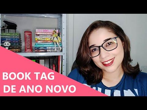 TAG LITERÁRIA DE ANO NOVO ??   Biblioteca da Rô