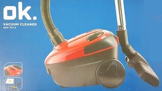 Media Markt/Saturn OK OVC 3111 A Vacuum cleaner Staubsauger