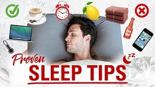 Proven Sleep Tips | How to Fall Asleep Faster | Doctor Mike - Video Youtube
