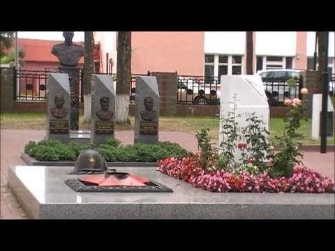 Городок Беларусь кладбище Советских воин