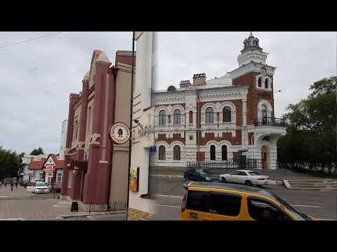 КРАСИВЫЕ ЗДАНИЯ И ПАМЯТНИКИ БЛАГОВЕЩЕНСКА./Beautiful buildings and monuments of Blagoveschensk.