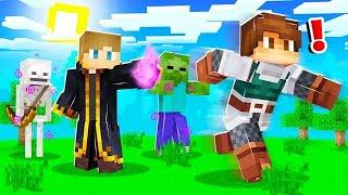 TROLLING with DARK MAGIC in Camp Minecraft! (Season 3)