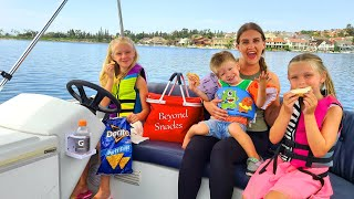 1st Picnic on the Boat & Family Game Night!!!