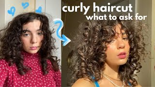 MY CURLY HAIRCUT: what to ask for at the salon, how to cut curly hair, and my new hair