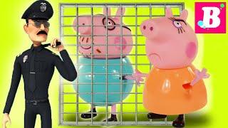 Peppa Pig Сборник Мультик из игрушек - Выпуск №4 Играем вместе Свинка Пеппа Cartoon for kids