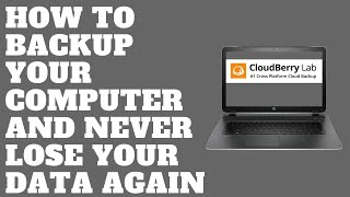 How to Backup Your Computer and Never Lose Your Data Again