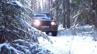 25.12.2012 Offroad brauciens meklējot geocaching punktu!