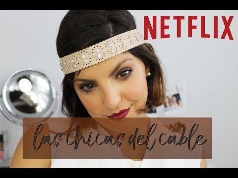 LAS CHICAS DEL CABLE TUTORIAL INSPIRADO EN SERIE NETLIX | Blanca suarez makeup tutorial|