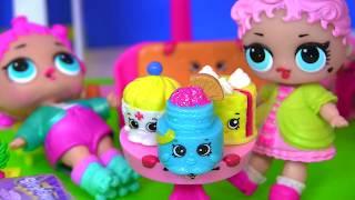 #СЮРПРИЗЫ! Видео для Детей   У КУКЛЫ ЛОЛ САМЫЕ МОДНЫЕ ИГРУШКИ! Shopkins Мультик
