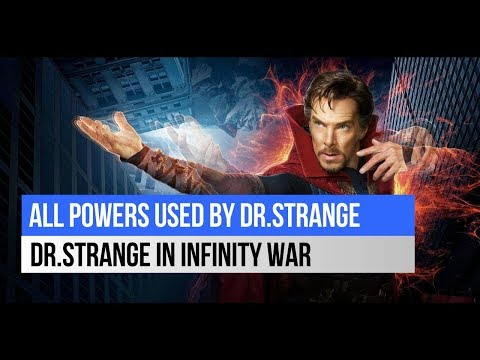 Dr Strange Powers in Infinity War   Who is Blue Pirates   Movie Recape