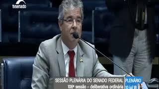 Petecão e Jorge Viana batem boca no senado por discordância sobre intervenção federal no Acre
