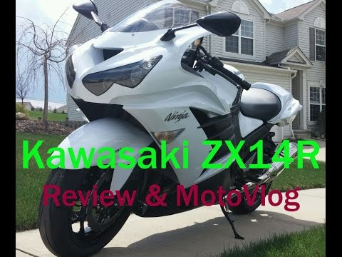 Kawasaki Ninja ZX14R: Review, BMW HP4 Racing & Motovlog