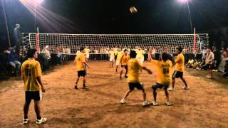 preview picture of video 'INTER HOSTEL VOLLEYBALL CHAMPIONSHIP 2014 HOSTE#3 vs HOSTEL#7:1st MATCH'