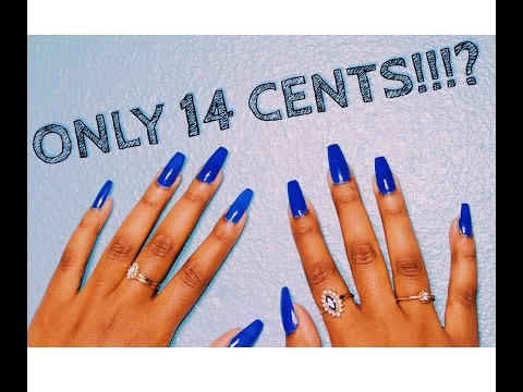 DIY NAILS | ONLY 14 CENTS!!!?