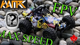 KYAMRC KY-118, 1/20 Scale Grafitti Buggy, Max Speed, FPV Testing
