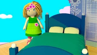 Мультики для девочек - Кукольный домик Бьянки - Мебель для спальни