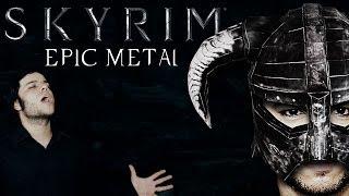 SKYRIM - Epic Metal DRAGONBORN