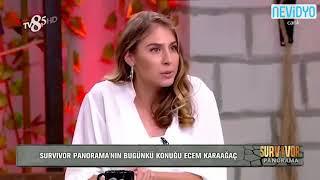 Ecem Karaağaç Survivor'a Vedasının Ardından Ilk Kez Konuştu Videosu