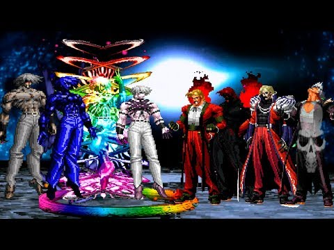 Kof Mugen Súper Orochi Team VS Rugal Team