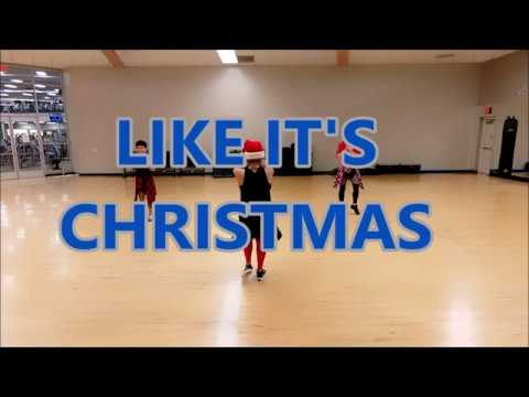 Like It's Christmas - Jonas Brothers// ZUMBA// Dance Fitness// Choreography by Ofelia// Pre-Cooldown
