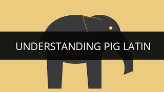 Apache Pig Tutorial 1 | Understanding Pig Latin | Pig Latin Explained | Hadoop Tutorial