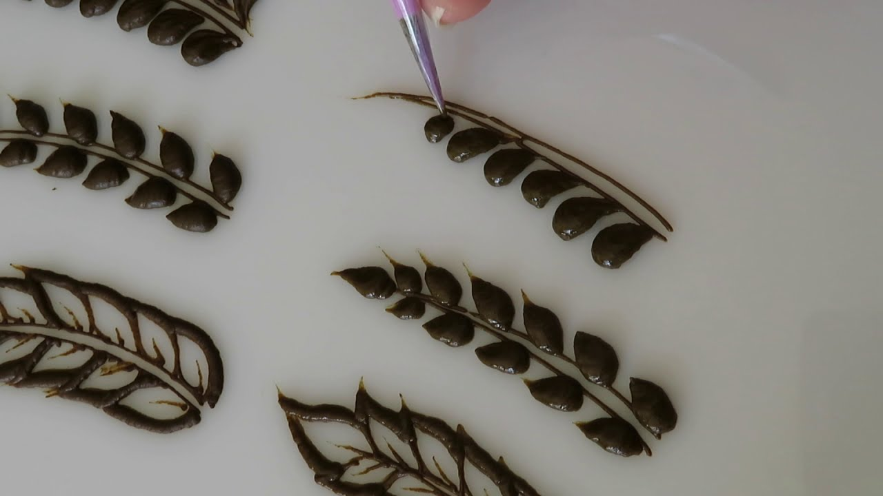 mehndi design types how to draw 6 different vines by ayyari henna