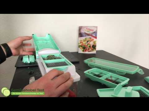 Genius Plus Nicer Dicer Gemüsehobel Test