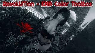 Skyrim LE RevoLUTion - ENB Color Toolbox test