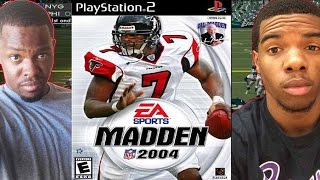 MICHAEL VICK CHEESE - Madden NFL 2004 (PS2)   #ThrowbackThursday ft. Juice