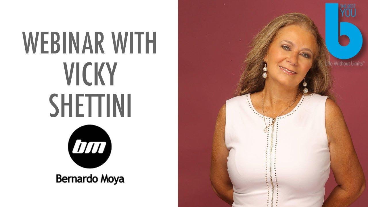 Seminario web con Vicky Shettini