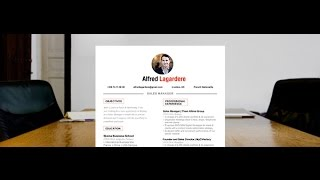 "Download resume ""Balanced"" by Mycvfactory"
