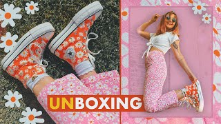 The *CUTEST* Converse Shoe UNBOXING   How To Style Converse Platform